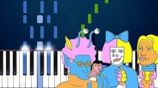 LSD - Mountains Piano Tutorial