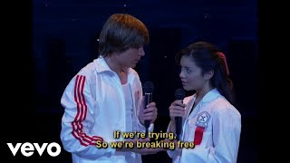 High School Musical Cast - Breaking Free (Disney Channel Sing Along)