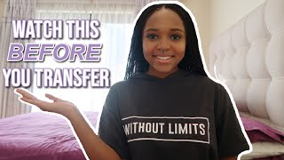 ADVICE FOR COLLEGE TRANSFER STUDENTS | EVERYTHING YOU NEED TO KNOW BEFORE YOU TRANSFER | ADVICE