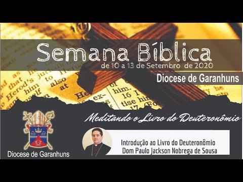 1ª Noite de Live da Semana Bíblica da Diocese de Garanhuns