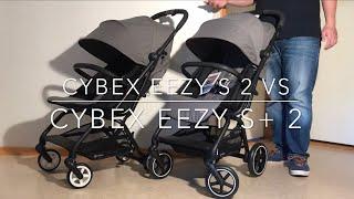 Cybex Eezy S 2 VS Cybex Eezy S + 2: Mechanics, Comfort, Use