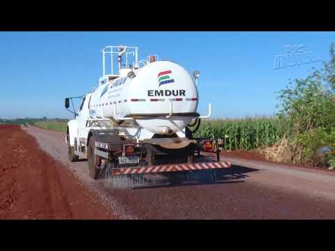 Novo tipo de pavimentação de estradas rurais