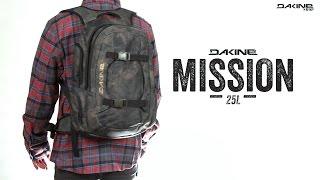Dakine Mission 25L / haze - відео 3