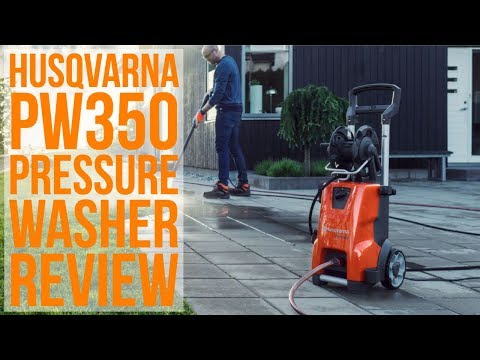 Spring Cleaning with the Husqvarna PW350 Pressure Washer and SC400 Surface Cleaner - Introduction