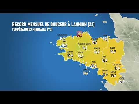Illustration de l'actualité Record mensuel de douceur à Lannion (22)