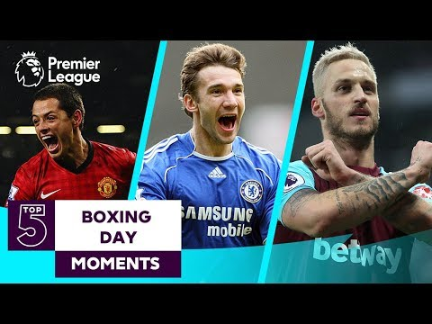 Top 5 Boxing Day Moments | Manchester United Chelsea Manchester City