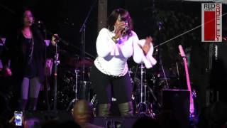 Angie Stone Performs at ATL Live On the Park
