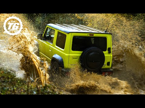 OFF ROAD: Suzuki Jimny VS Dacia Duster | Top Gear