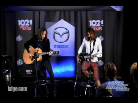 The Darkness - Growing On Me Live The Edge Mazda Music Lounge Mp3