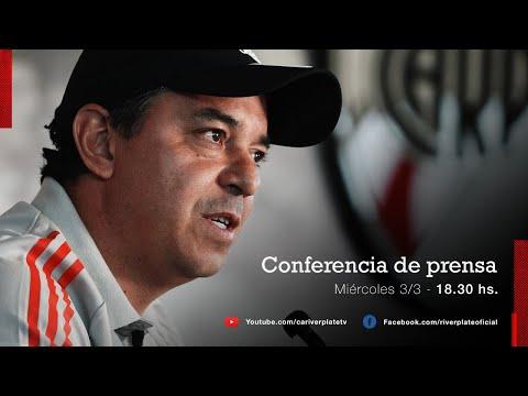 Marcelo Gallardo en conferencia de prensa [3/3/2021 - EN VIVO]