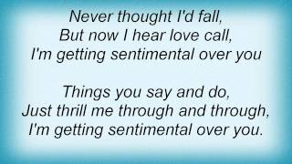 Barry Manilow - I'm Getting Sentimental Over You Lyrics_1
