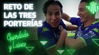 RETO de las TRES PORTERÍAS | CHALLENGE | Real Betis Balompié