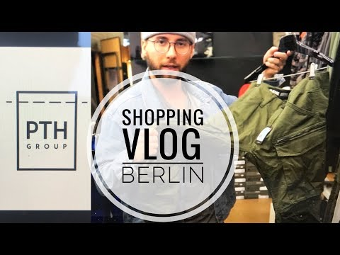 PTH group Shopping Berlin | Calvin Klein Jeans, Tommy Jeans & G-Star | Vlog #2 | Philipp Lüders