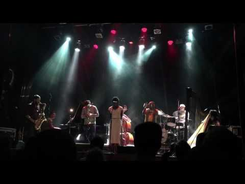 MATTHEW HALSALL & THE GONDWANA ORCHESTRA feat: DWIGHT TRIBLE @ ISLINGTON ASSEMBLY HALL,part 5. online metal music video by THE GONDWANA ORCHESTRA