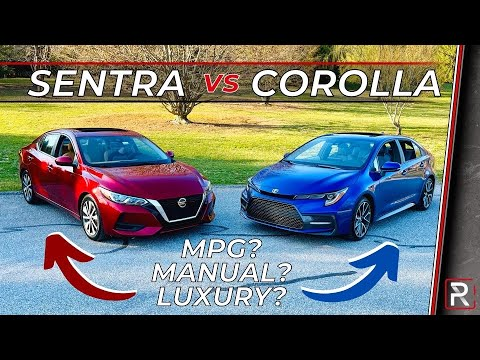2021 Toyota Corolla SE Vs. 2021 Nissan Sentra SV – Which is the Better Budget Commuter Car?
