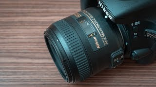 Nikon AF-S 40mm f/2.8G DX Micro - The King of Product Photography 4K