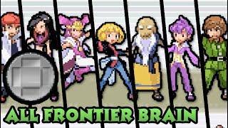 Pokémon Emerald - Every Frontier Brain Battles (Silver Symbol)