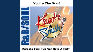 Two Can Have A Party (Karaoke-Version) As Made Famous By: Marvin Gaye / Tammi Terrel