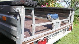 Прицеп для перевозки лодки. Легковой прицеп в лодочный своими руками. Часть 2. Теперь возим РИБ.
