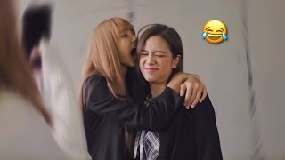 BLACKPINK Lisa And Jisoo Being Chaotic | Funny Moments