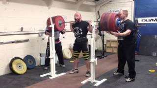 Adam Travis 284kg Back Squat