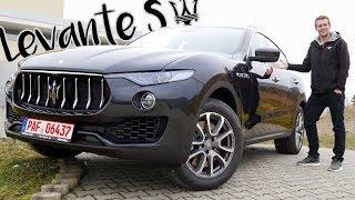 Maserati Levante S 2016 | Review und Fahrbericht | Fahr doch