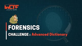 Watch Advanced Dictionary - Forensics Challenge on YouTube