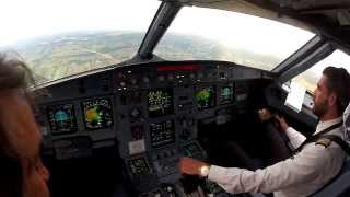 preview picture of video 'Lodz EPLL Cockpit view landing 25'