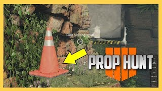 Black Ops 4 Prop Hunt on Frequency
