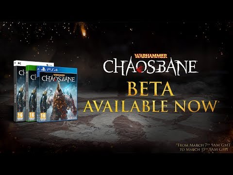 Warhammer: Chaosbane - Beta Launch Trailer (PEGI) thumbnail