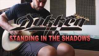 DOKKEN | Standing In The Shadows | GUITAR SOLO COVER