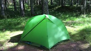 Vaude Space 1-2p SUL Seamless - tent for bicycle touring and backpacking