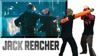 JACK REACHER Fighting Style   Keysi Fighting Method