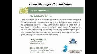 lawn care pro software - ฟรีวิดีโอออนไลน์ - ดูทีวีออนไลน์ - คลิป