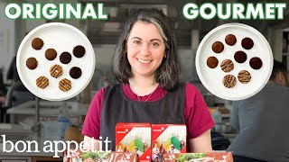 Pastry Chef Attempts to Make Gourmet Girl Scout Cookies | Gourmet Makes | Bon Appétit