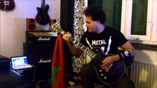Tony  Iommi - Wasted Again  (Cover by Simon Nassiri)