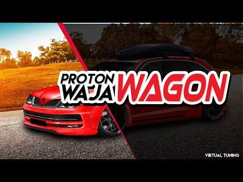 Download Proton Waja Modified Virtual Video 3GP Mp4 FLV HD Mp3