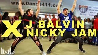 X (Equis) - Nicky Jam & J Balvin Dance   Matt Steffanina   DANCECON 6: Atlanta