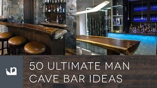 50 Ultimate Man Cave Bar Ideas