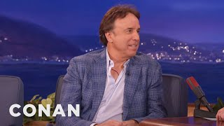 Kevin Nealon: Eli Manning Messed Up My iPhone  - CONAN on TBS
