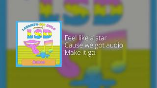 LSD - Audio feat. Sia, Labrinth & Diplo (Official Instrumental / Lyrics on Screen)