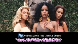 Destiny's Child - Game Over (Eng & Thai Lyrics)