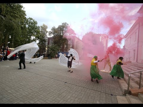 В День города в Воронеже прошёл четырёхчасовой карнавал