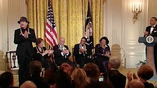 President Obama Speaks At The 2013 Kennedy Center Honors Reception Video