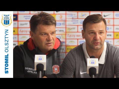 Trenerzy po meczu Stomil Olsztyn - Resovia 4:2