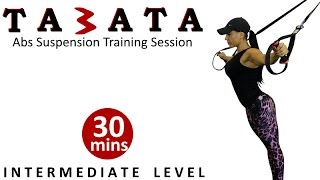 Intermediate TABATA Abs Workout | Suspension Training by Coach Ali