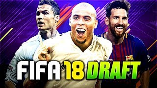 FIFA 18 - FUT DRAFT | ICON RONALDO!!!