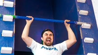 How Difficult is the Salmon Ladder from Ninja Warrior?