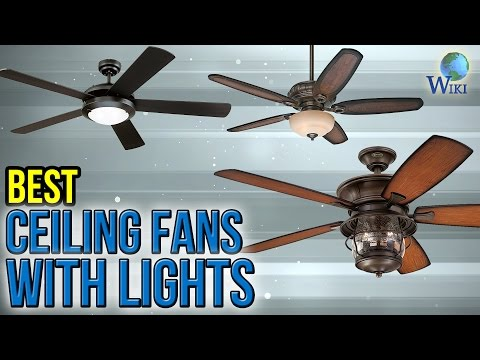 10 Best Ceiling Fans With Lights 2017