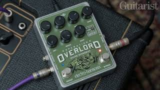 Electro-Harmonix Operation Overlord drive/distortion pedal demo